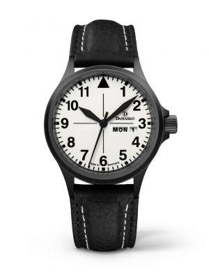 Damasko DA37 Black Pilot Watch