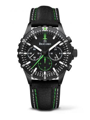 Damasko DC86 Green Black Chronograph Watch