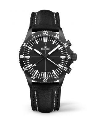 Damasko DC80 Black Chronograph Watch