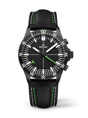 Damasko DC80 Green Black Chronograph Watch