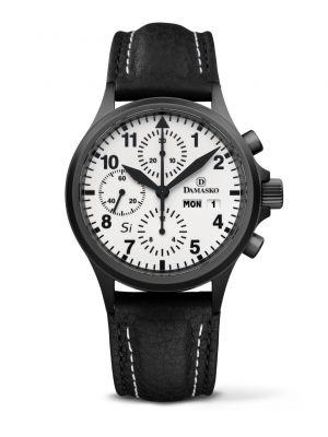 Damasko DC57 Si Black Chronograph Watch