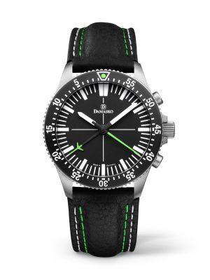 Damasko DC80 Green Chronograph Watch