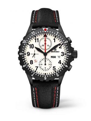 Damasko DC67 Si Black Chronograph Watch