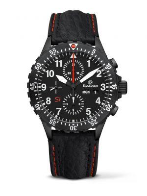 Damasko DC66 Si Black Chronograph Watch