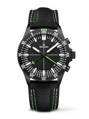 Damasko DC82 Green Black Chronograph Watch