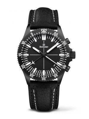 Damasko DC82 Black Chronograph Watch