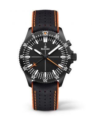 Damasko DC80 Orange Black Chronograph Watch