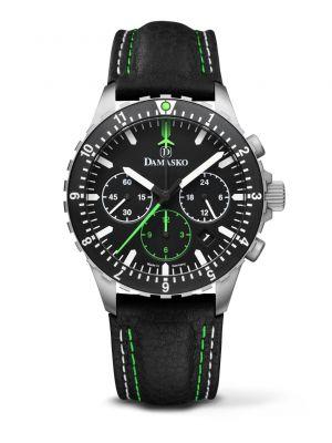 Damasko DC86 Green Chronograph Watch