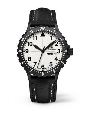 Damasko DA47 Black Pilot Watch