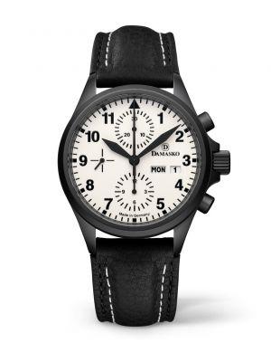 Damasko Dc57 Black Chronograph Watch