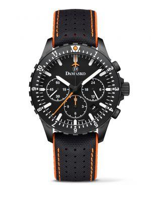 Damasko DC86 Orange Black Chronograph Watch