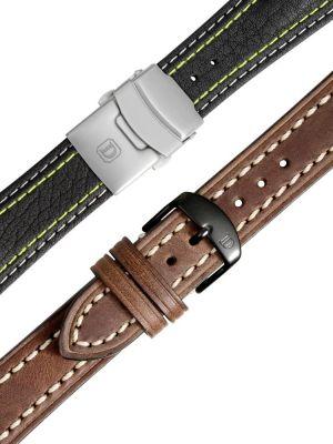 Damasko Leather Watch Straps